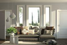 Soggiorno / Progetto di interni per set fotografico
