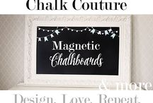 Chalk Couture / #Chalkcouture #farmhouse #decor #crafting #chalkboards #diy #farmhousesigns #homedecor