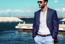 Summer Fashion - Men Edition / Style and fashion for this summer - for men. Ladies, find some inspiration for your man next birthday present, Guys, get some cool clothes and we guarantee you a good summer!