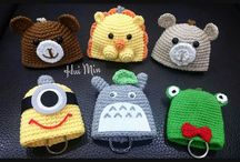 Portachiavi-key cover crochet