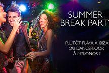 """Summer Break Party / Cet été, la Summer Break Party vous fera vivre une expérience unique. Deux navires, deux itinéraires vous transporteront dans un autre monde : des rythmes entraînants, des soirées à thème, des """"pool party""""... Un programme pensé pour vous détendre et faire la fête comme vous en avez toujours rêvé !"""