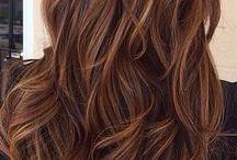 Brunt & Rött hår