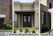 ¿Cómo diseñar la fachada ideal?