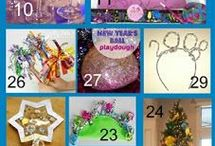 New Years / New Years activities for kids! Celebrate New Years with kids in the classroom or at home.