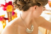 Wedding Hair / For that perfect wedding hair, here are a few of our ideas!  www.sevenseaspearls.com