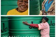Community projects / Communities without a water infrastructure are  close to our hearts particularly where water is scarce. We are grateful when able to make a contribution that will result in a better quality of life for them.