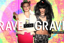 Rave to the Grave / Candy rave meet goth rave, with wild wear for ravers everywhere!