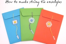 Let's CREATE WITH PAPER / paper crafts, cards, paper, etc