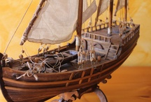 Ships&Galleons (hand made, wood)