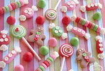 Candy cake/ Lollipops