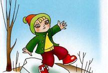 Zimné športy a nastrahy zimy