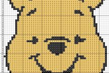Winnie Pooh / Punto De Cruz