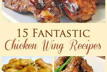 Chicken wing recipes