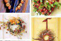 Wreath fall