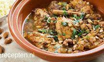kip op Marokkaanse kruiden
