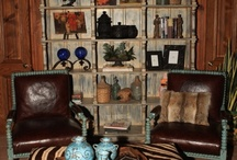 Decorating: Texas Ranch House Style / A custom decorated home by Fiddlin Frogs, featuring old world style, rustic elegance, an eclectic mix of styles and fabrics, combined to make this home perfect for guests, entertaining, and comfort.