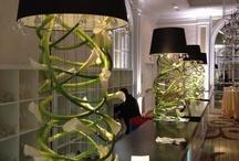 Floral Lamps