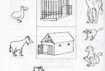 Alt med kreative Dyr / Dette er tænkt som en indgangsvinkel til alt undervisning i børnehave og skolen.  Børn i alle aldre, børnehave, indskolingen, mellemtrin, udskolingen, børn med specielle behov.