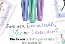I am Lavender  / Ghd style - only way to care for your hair and get amazing styles <3