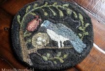 Hooked Rugs / Finished hooked rug projects. / by Mavis Butterfield