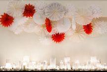 Esküvő - a dekor