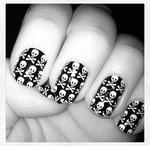 Unhas/ Caveiras- Nails/ Skull