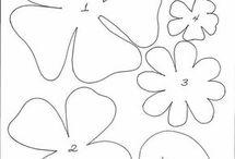 kukkien kaavat