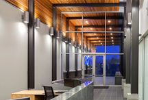Western Red Cedar commercial architecture / Projects featuring the warmth and natural beauty of Western Red Cedar in a commercial venue.