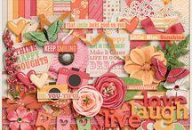 {Happy Girls} Digital Scrapbook Kit by Aprilisa Designs