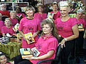 Pulpwood Queens / This is a crazy bunch of book loving tiara wearing readers!  So fun to be invited to their annual Girlfriends Weekend in Texas and hang with book clubs from across America.