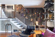 Mask Collection- wall display