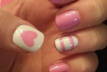 Gel nail designs I like / Gel nails