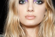 Soft, colourful makeup