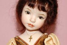 Dolls - porcelain, puki, art, polymer, etc...