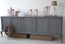 Queen Ann gerestylde meubelen