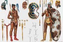 Minoisch-mykenische Krieger