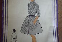 French vintage patterns for childrens