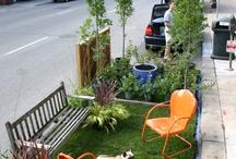 Mikroparki uliczne / Namiastka parku na chodnikach