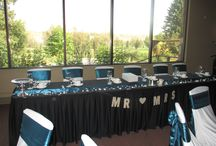 River Room Weddings / Weddings in our River Room banquet facility
