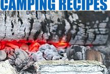 Camping Food / Delicious food for campers and outdoors men.