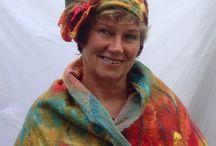 Kleuren met vilt / Marijke gevilten hoedje