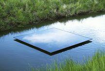Water Land Art