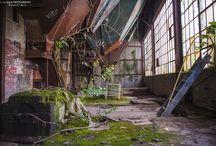 postindustrial abandoned rusty etc
