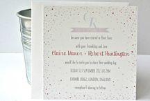 41. Wedding Invites / by Katie Allen