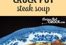 Crock Pot Steak