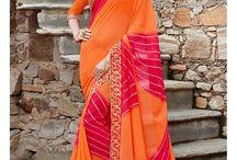 #Royal Look #Traditional #Saree at styloshopping.com