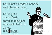You are a Control Freak! Do not look for sympathy!