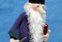Alan dart knitted toys