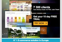 DEM / Screenshot examples of Direct Email Marketing campaigns