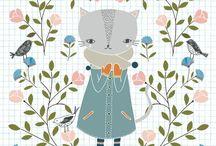 Ilustración bonita: Flora Waycott